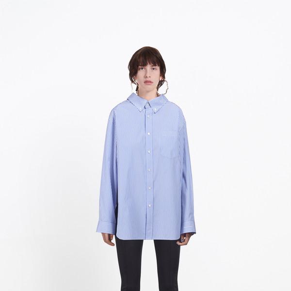 BALENCIAGA shirts D Swing Collar Shirt g