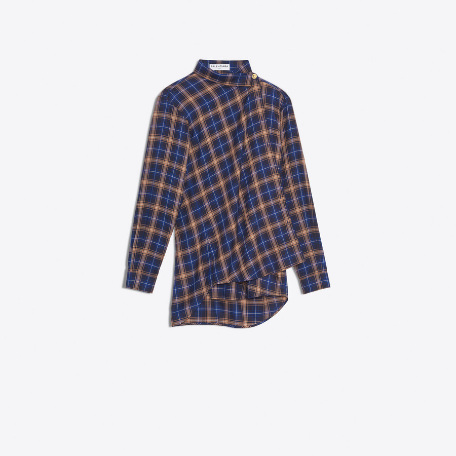 BALENCIAGA Pulled Shirt shirts D f