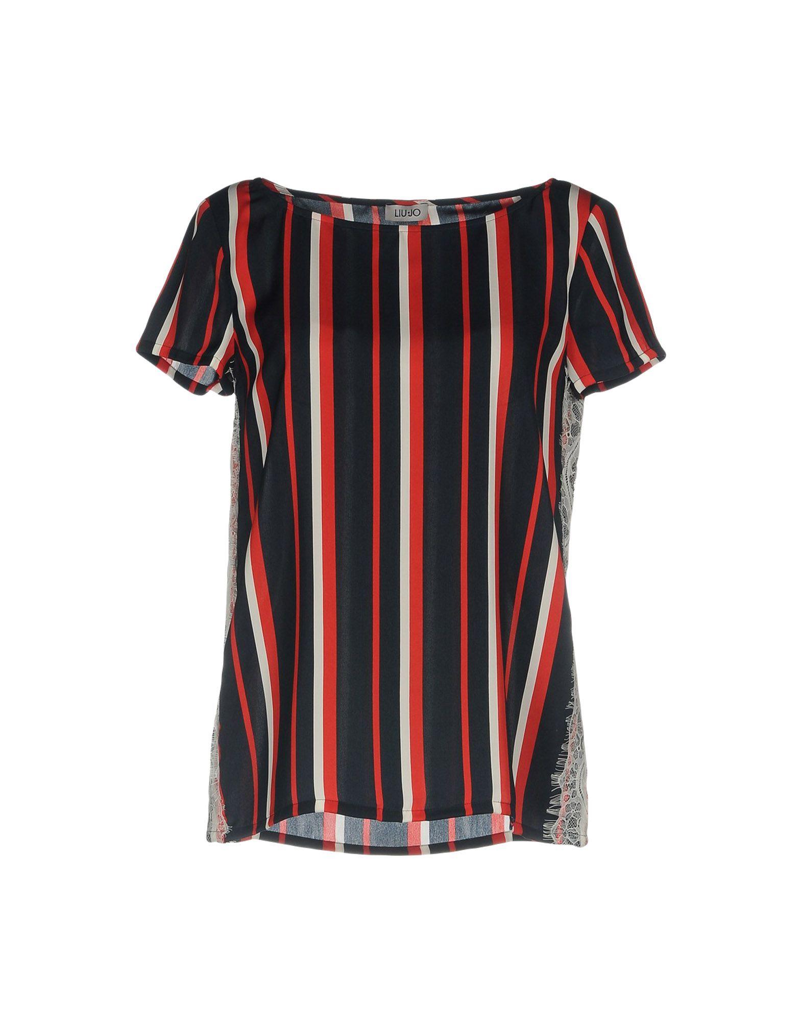 LIU •JO Damen Bluse Farbe Rot Größe 3