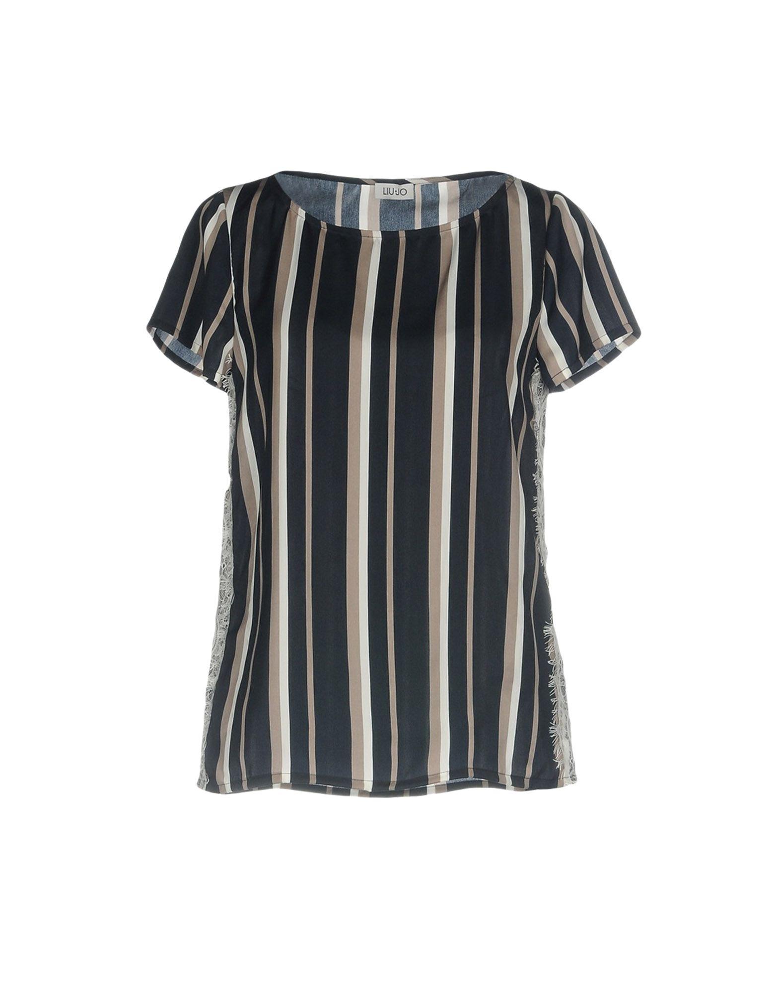 LIU •JO Damen Bluse Farbe Grau Größe 3