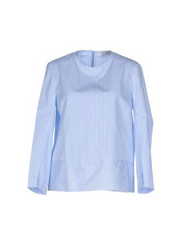 Купить Женскую блузку ALBERTO BIANI небесно-голубого цвета