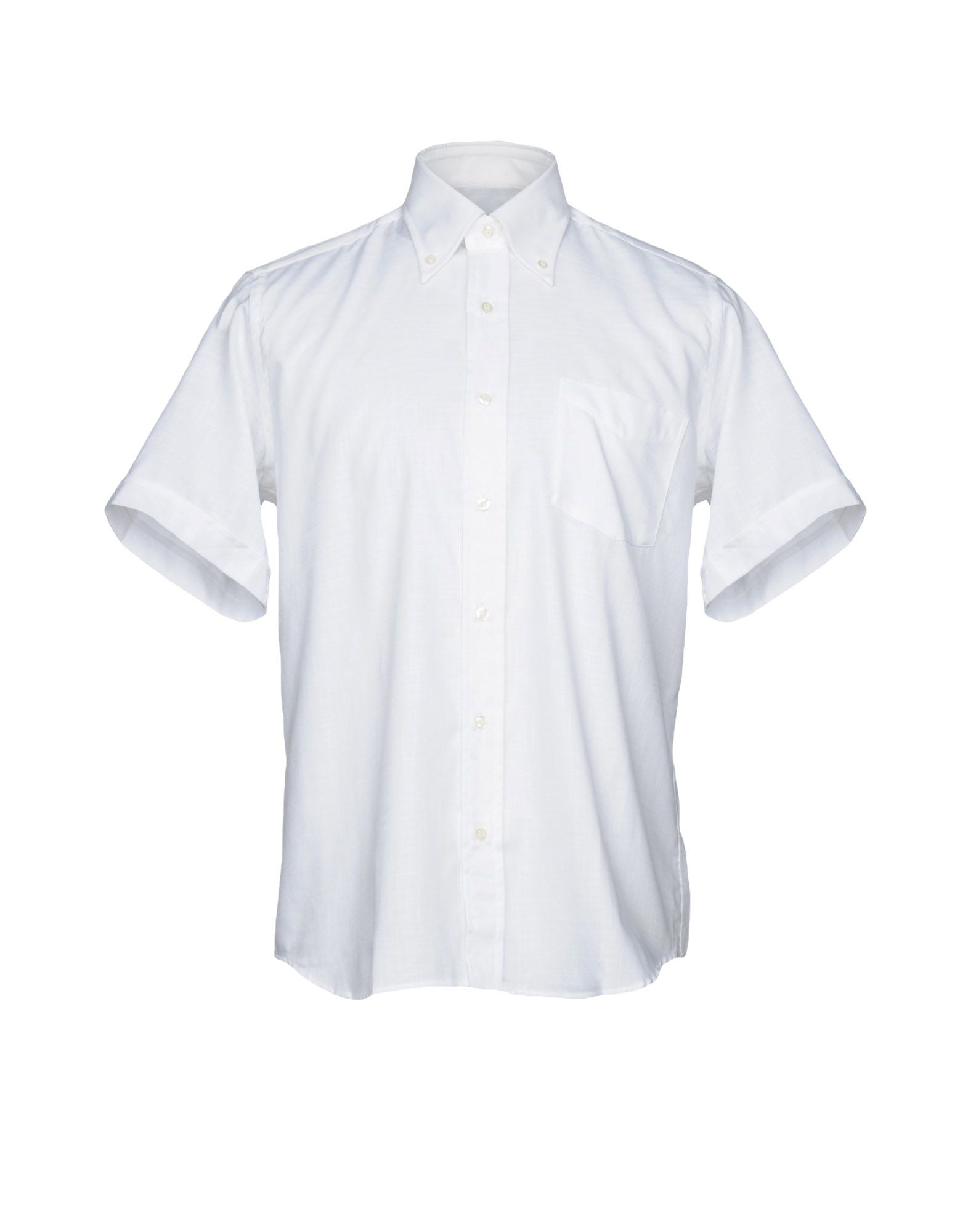 メンズ ROCCOBAROCCO シャツ ホワイト