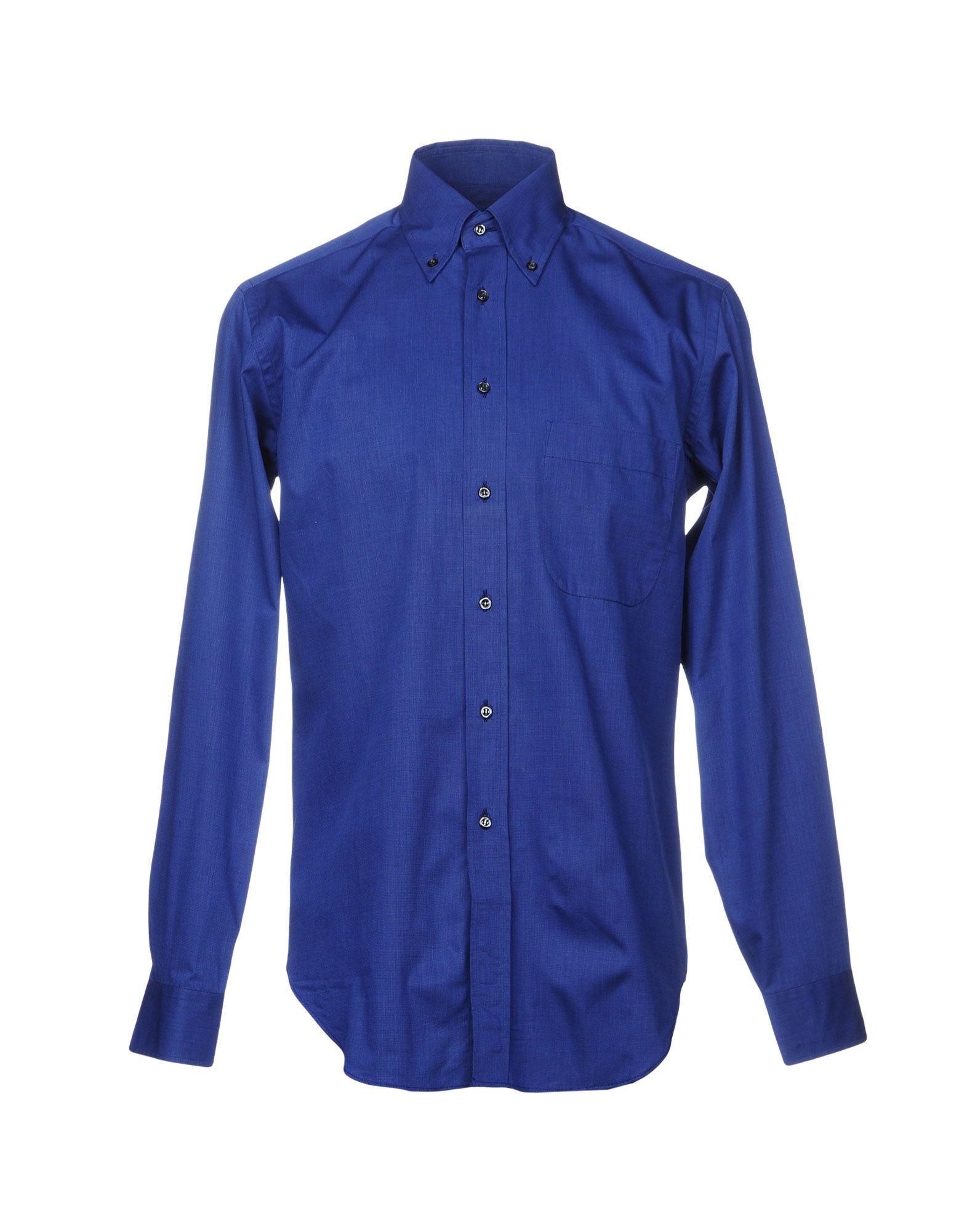 BAGUTTA Herren Hemd Farbe Königsblau Größe 3
