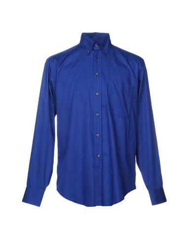 BAGUTTA メンズ シャツ ブルー 40 コットン 100%
