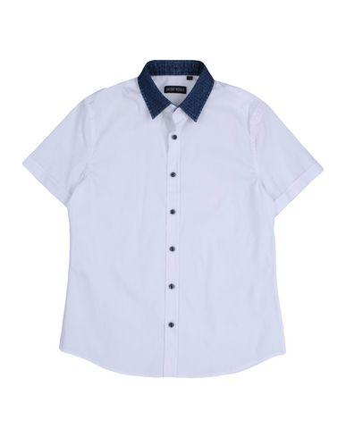 ANTONY MORATO ボーイズ 9-16 歳 シャツ ホワイト 12 コットン 76% / ナイロン 21% / ポリウレタン 3%