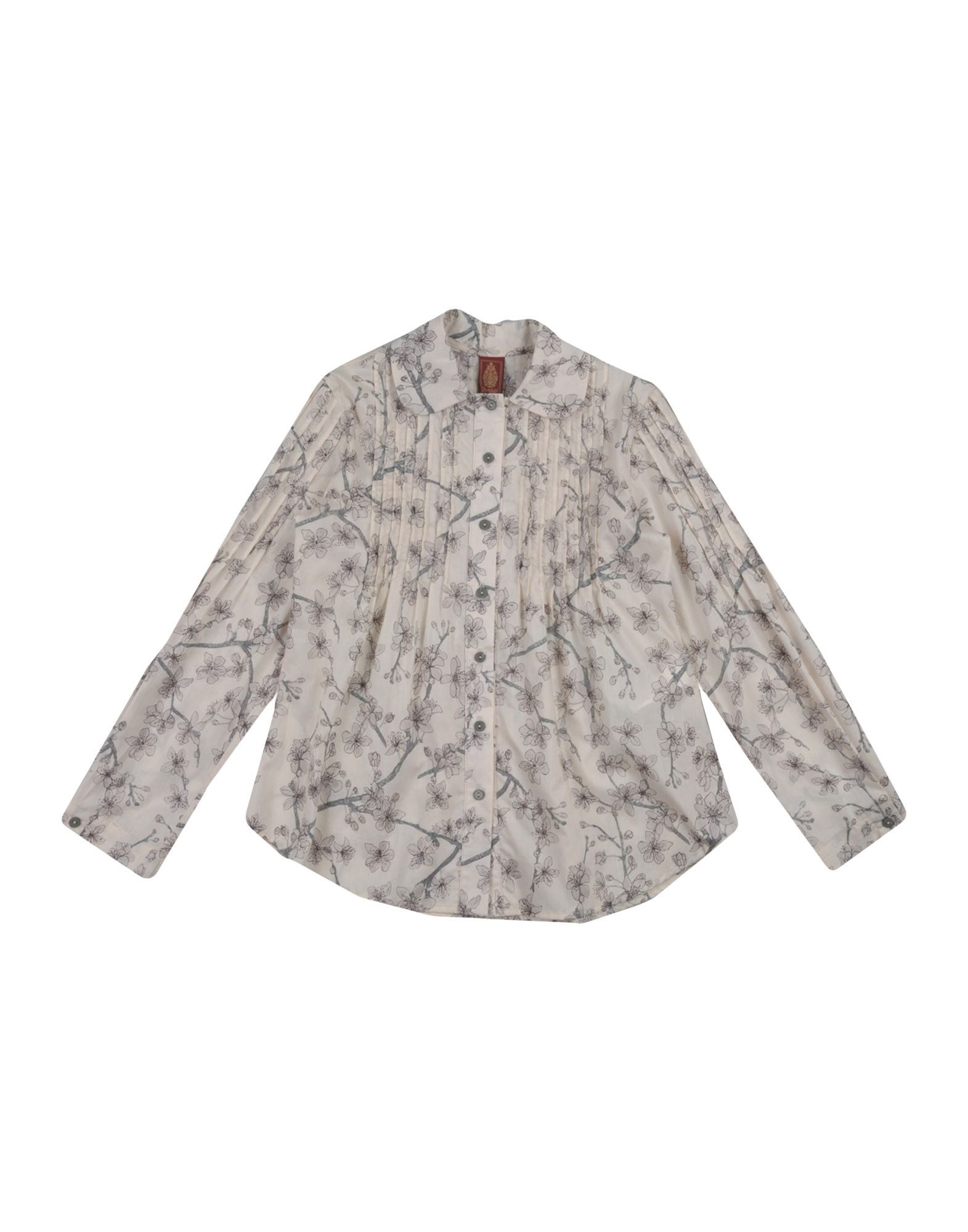 DONDUP Mädchen 3-8 jahre Hemd Farbe Elfenbein Größe 6