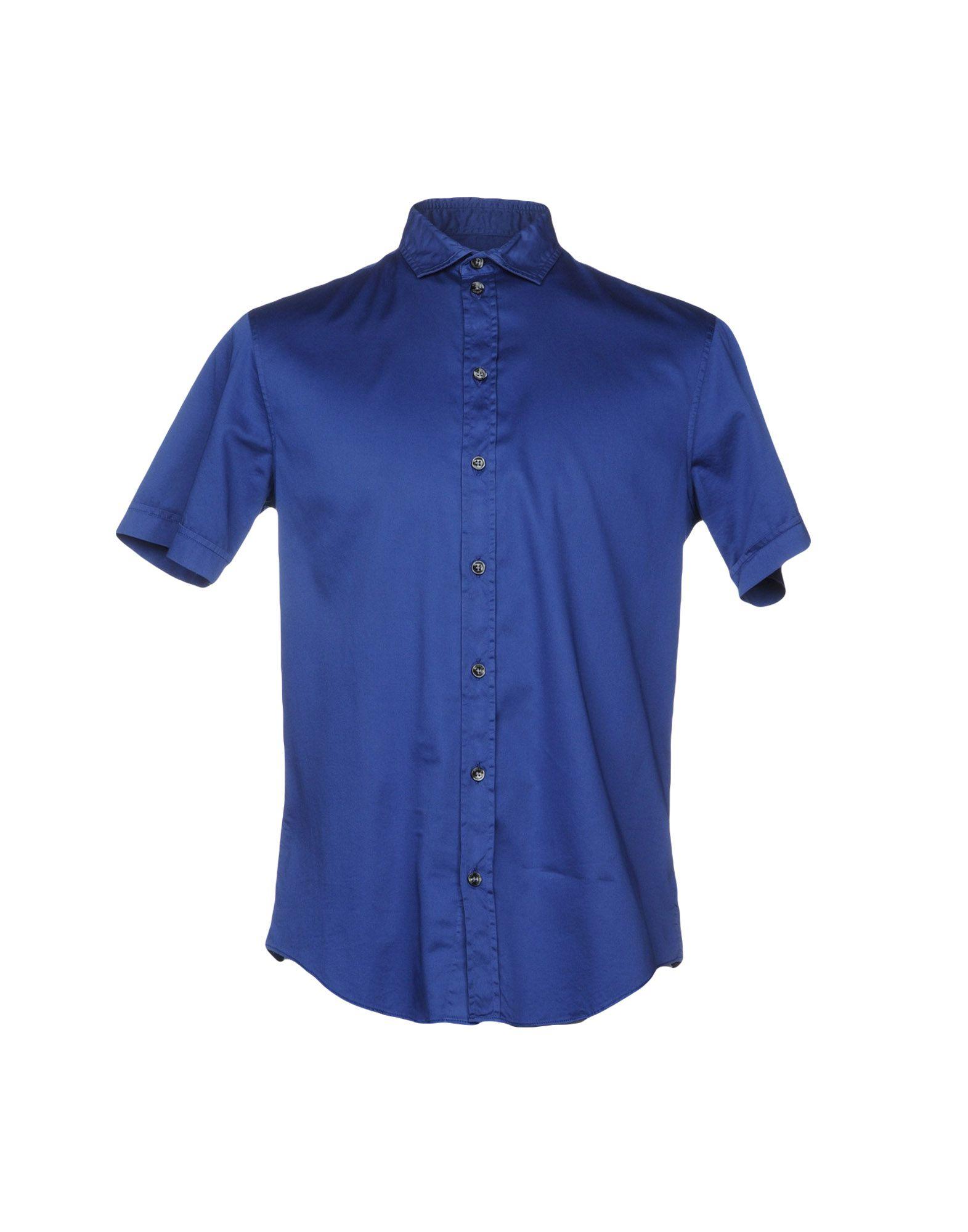 ARMANI COLLEZIONI Herren Hemd Farbe Blau Größe 4