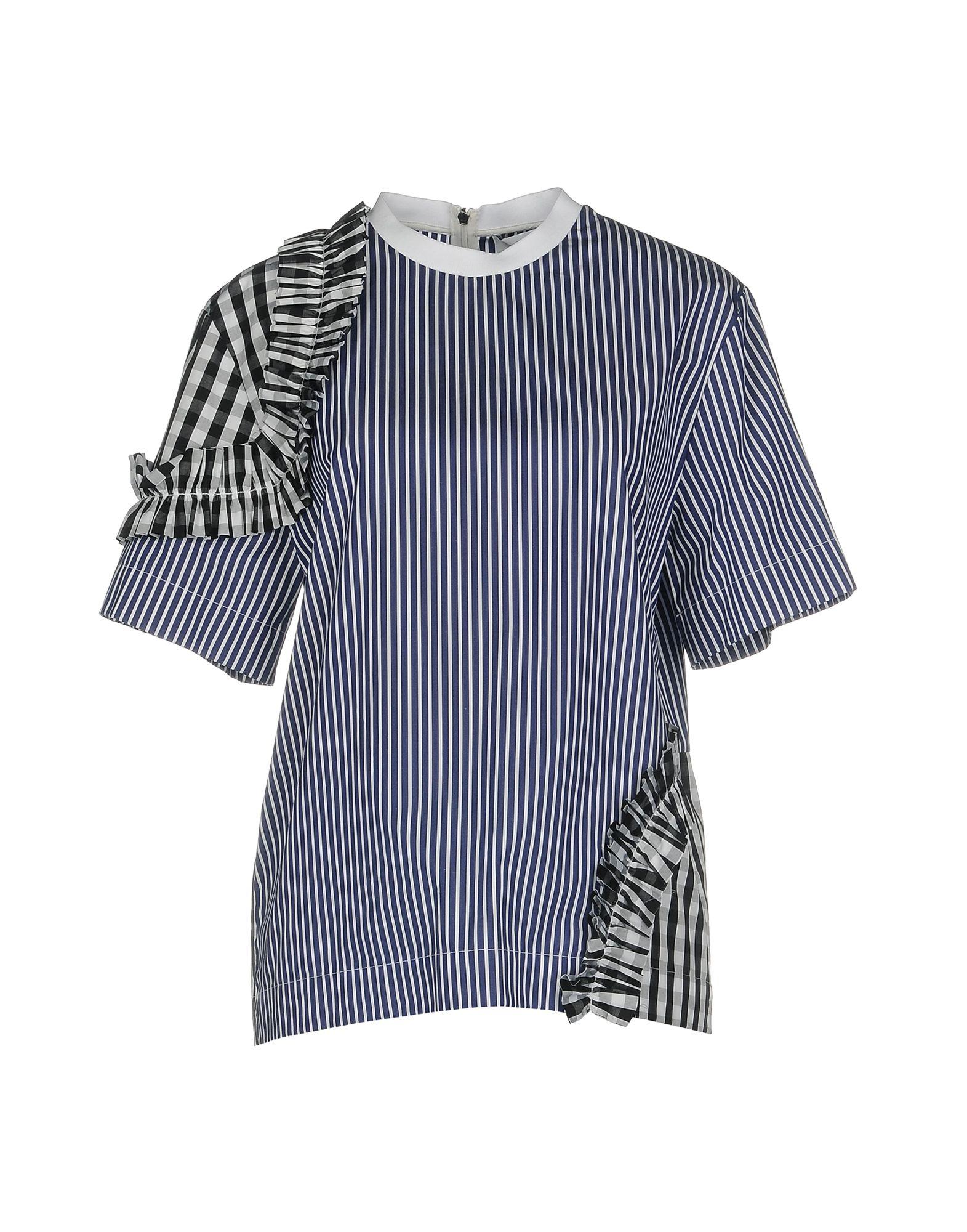 MSGM Damen Bluse Farbe Dunkelblau Größe 5