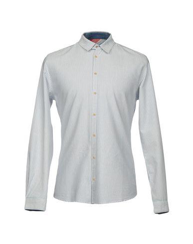 SUIT メンズ シャツ ホワイト S コットン 100%