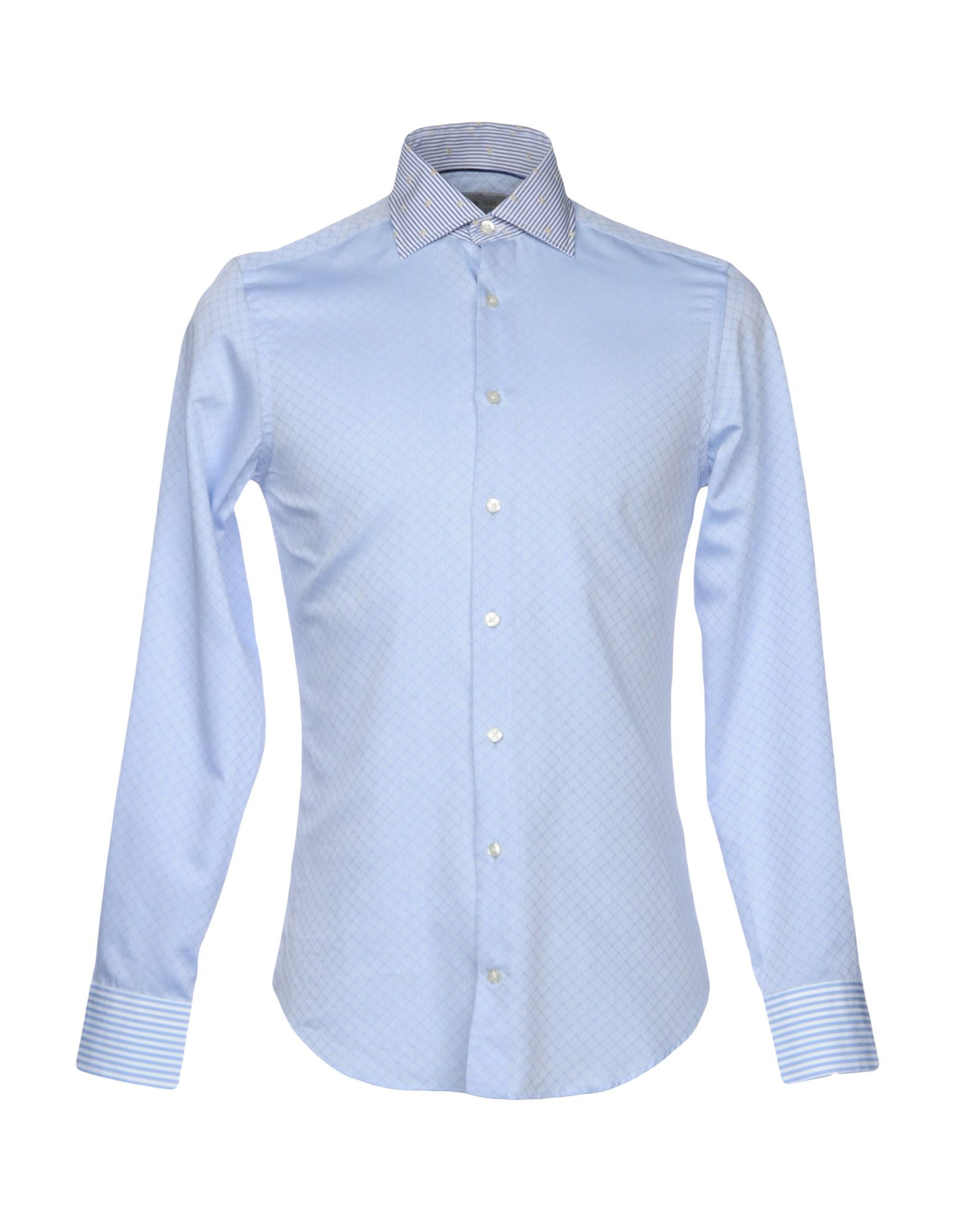 ETRO Herren Hemd Farbe Himmelblau Größe 3
