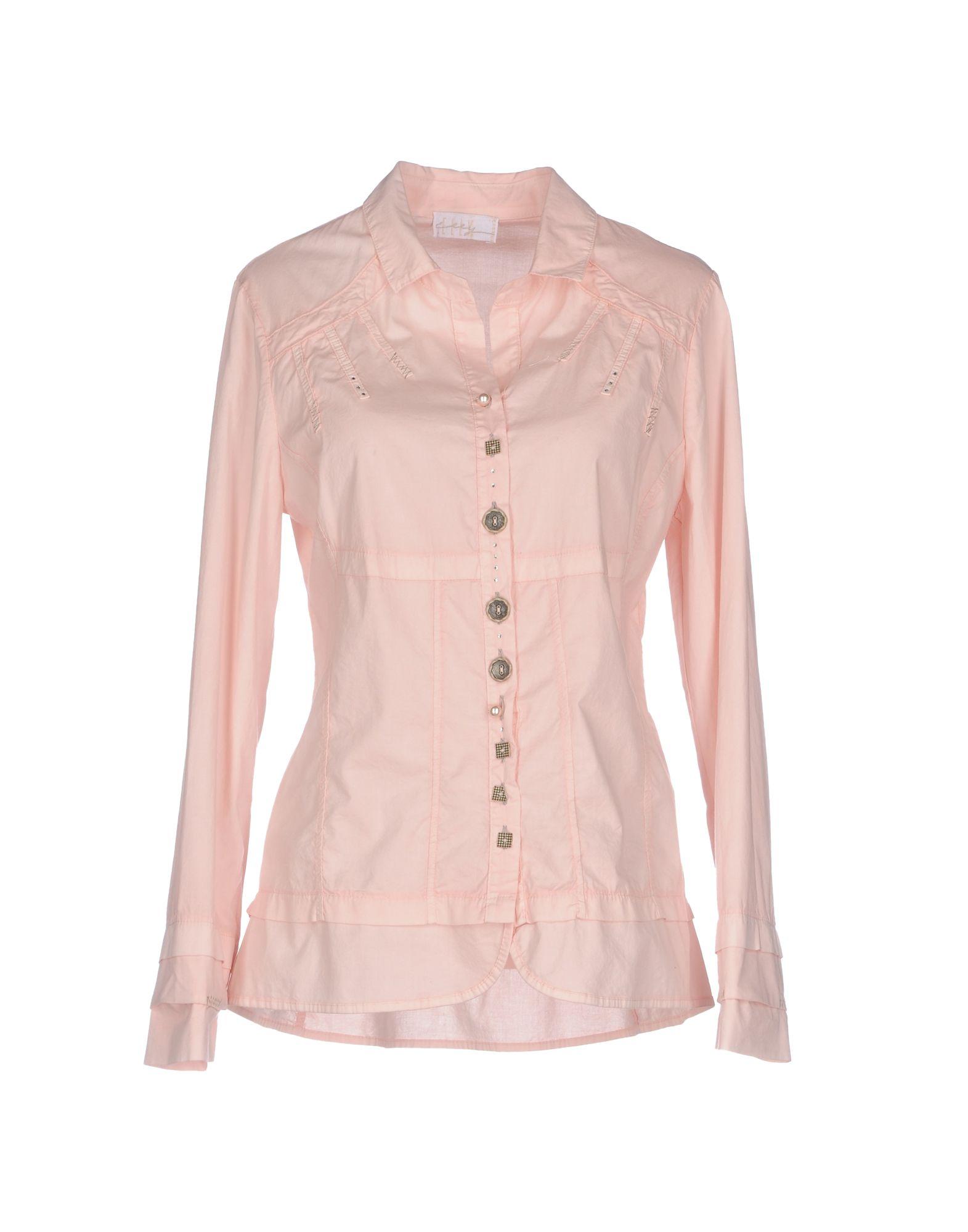 ELLY Damen Hemd Farbe Altrosa Größe 7