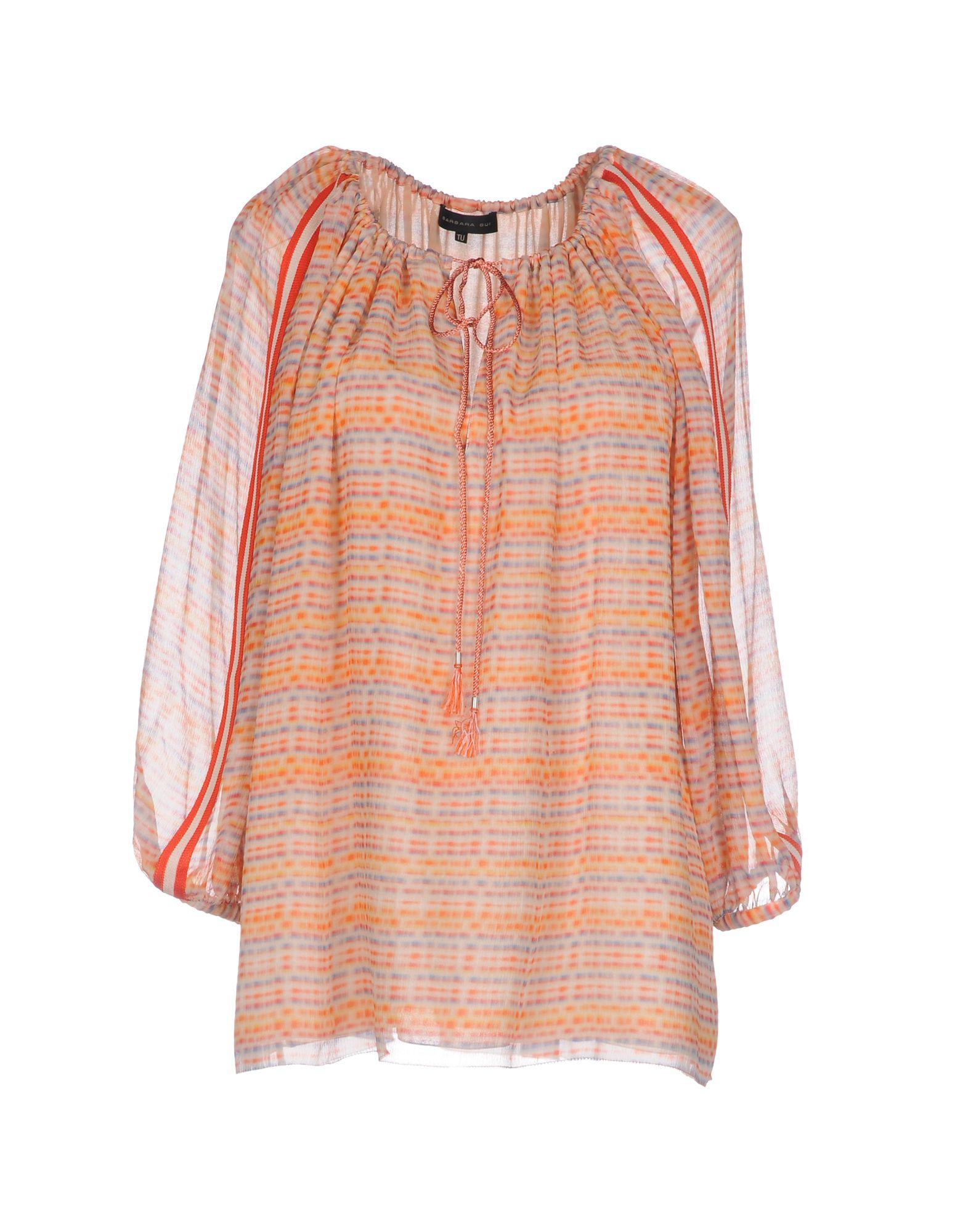 BARBARA BUI Damen Bluse Farbe Orange Größe 1