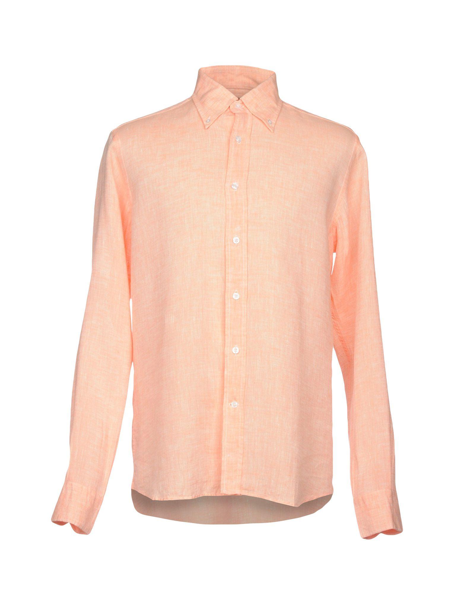 Sartorio Shirts Salmon Pink Modesens