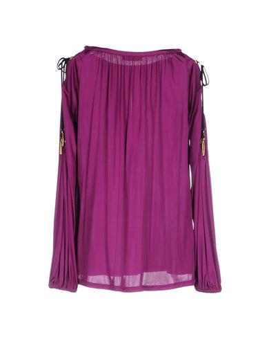 VERSACE COLLECTION Damen Bluse Malve Größe 34 100% Viskose