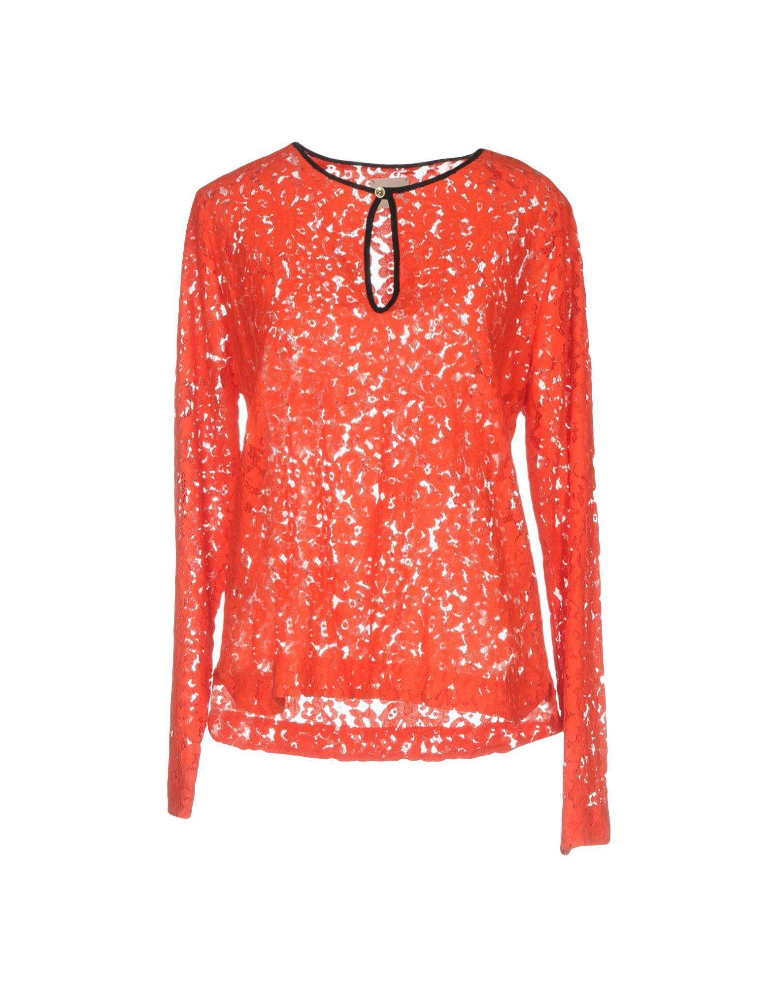 ..,MERCI Damen Bluse Farbe Rot Größe 6