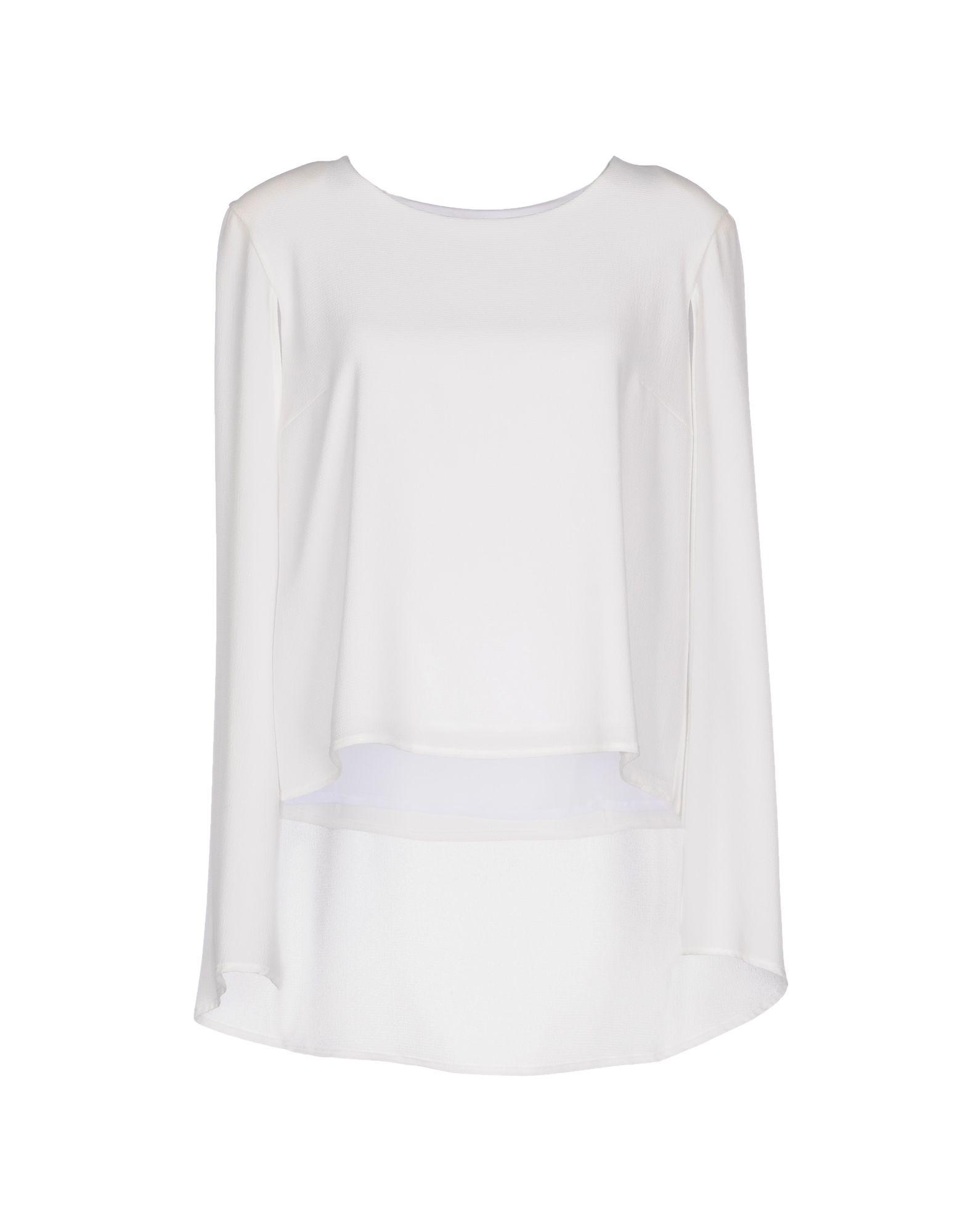 ALMAGORES Damen Bluse Farbe Weiß Größe 5