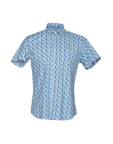 VICTOR COOL メンズ シャツ アジュールブルー S コットン 97% / ポリウレタン 3%