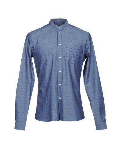 VICTOR COOL メンズ デニムシャツ ブルー M コットン 100%