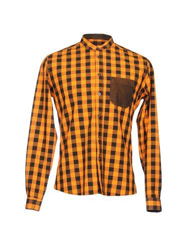 VICTOR COOL メンズ シャツ オレンジ L コットン 100%