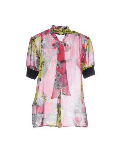 VERSACE COLLECTION Damen Hemd Fuchsia Größe 32 100% Polyester Viskose