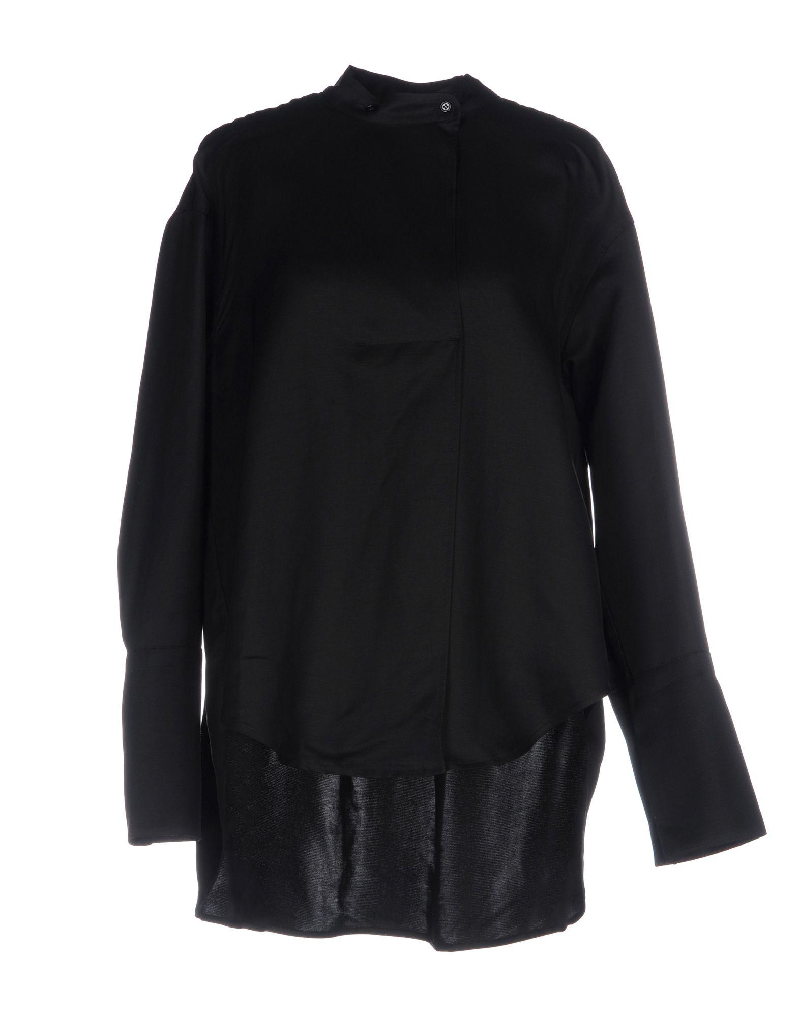 CALVIN KLEIN COLLECTION Pубашка цены онлайн