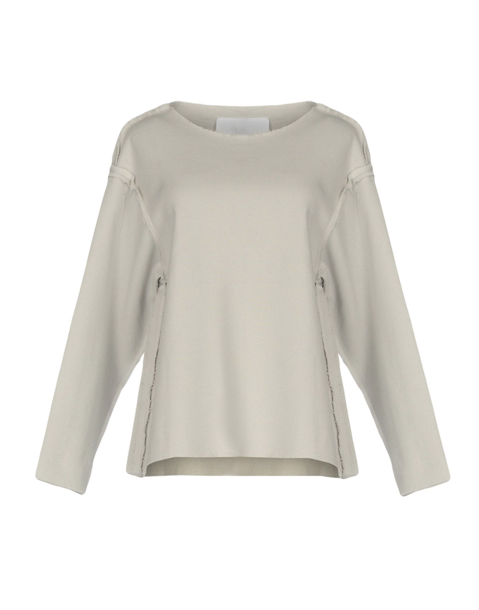 CHARLIE MAY Blouse in Light Grey