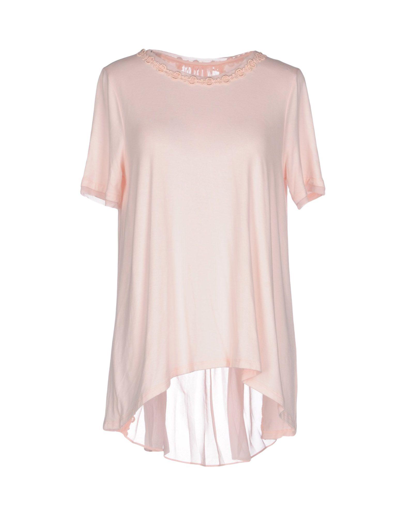 ELIE TAHARI Damen Bluse Farbe Rosa Größe 7