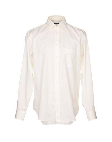BAGUTTA メンズ シャツ アイボリー 41 コットン 100%