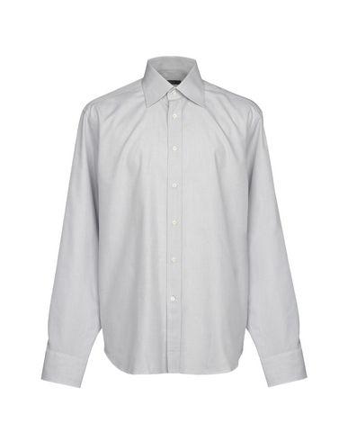 BAGUTTA メンズ シャツ グレー 42 コットン 100%