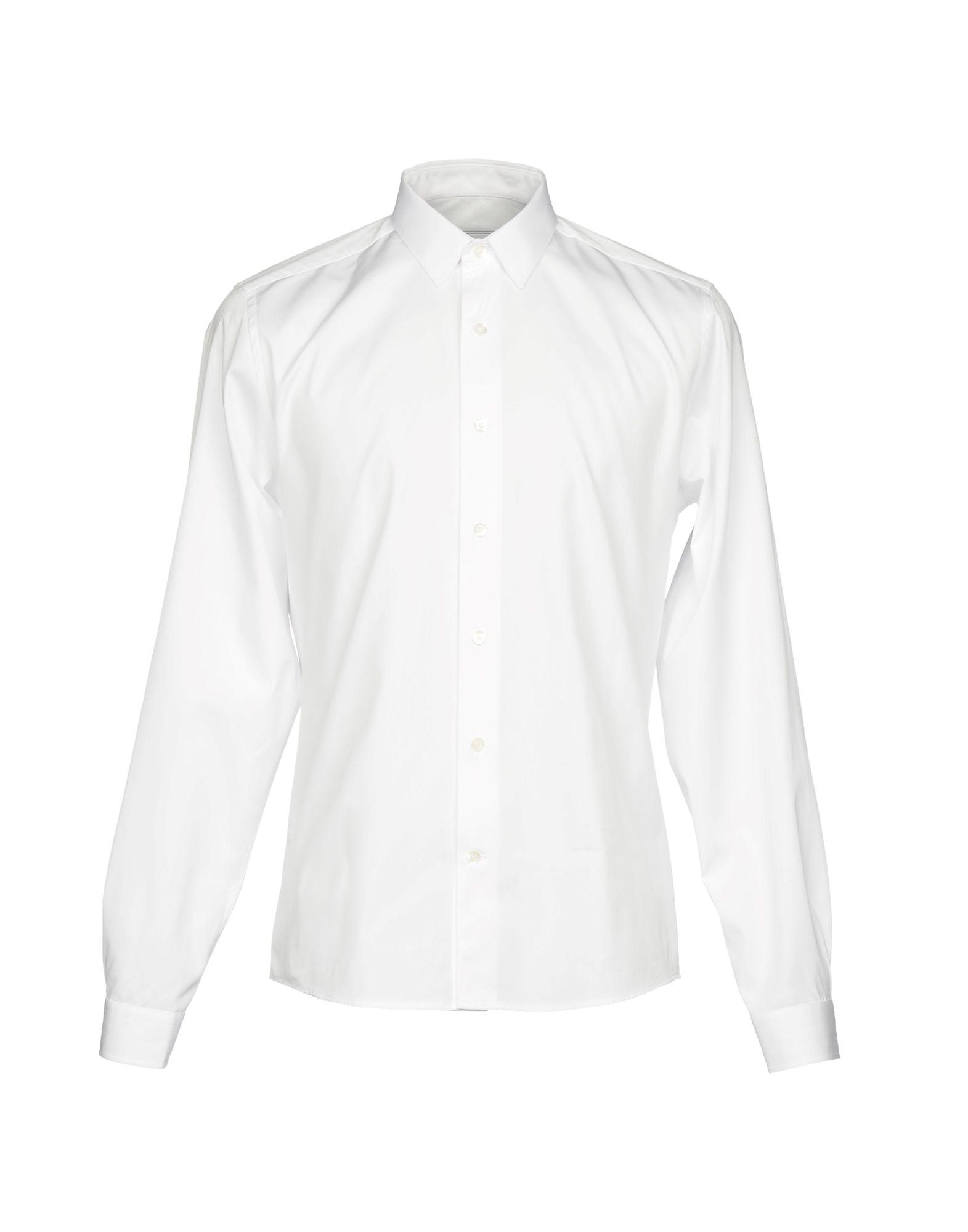 《期間限定セール開催中!》AMI ALEXANDRE MATTIUSSI メンズ シャツ ホワイト 43 コットン 100%