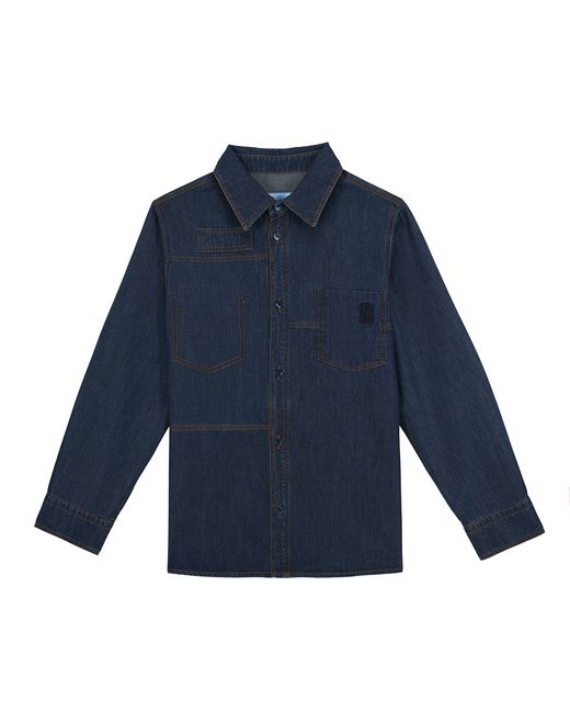 DENIM SHIRT - 3-10 years - Lanvin