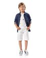 LANVIN Shirts Childrenswear Man DENIM SHIRT - 3-10 years f
