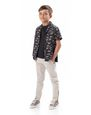LANVIN Shirts Childrenswear Man PRINTED SHIRT- 12 years f
