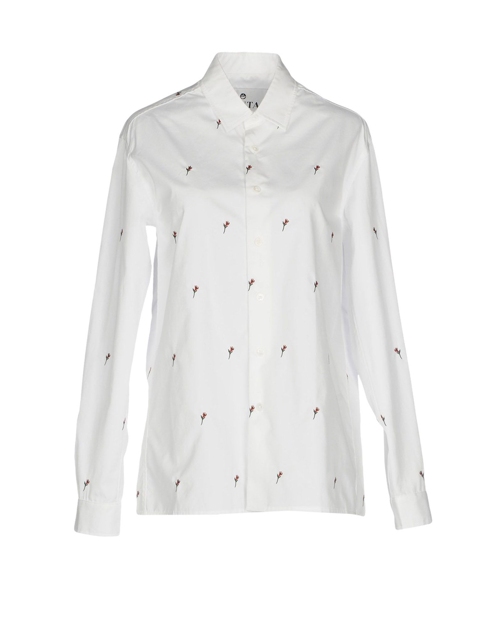 BRUTA Floral Shirts & Blouses in White