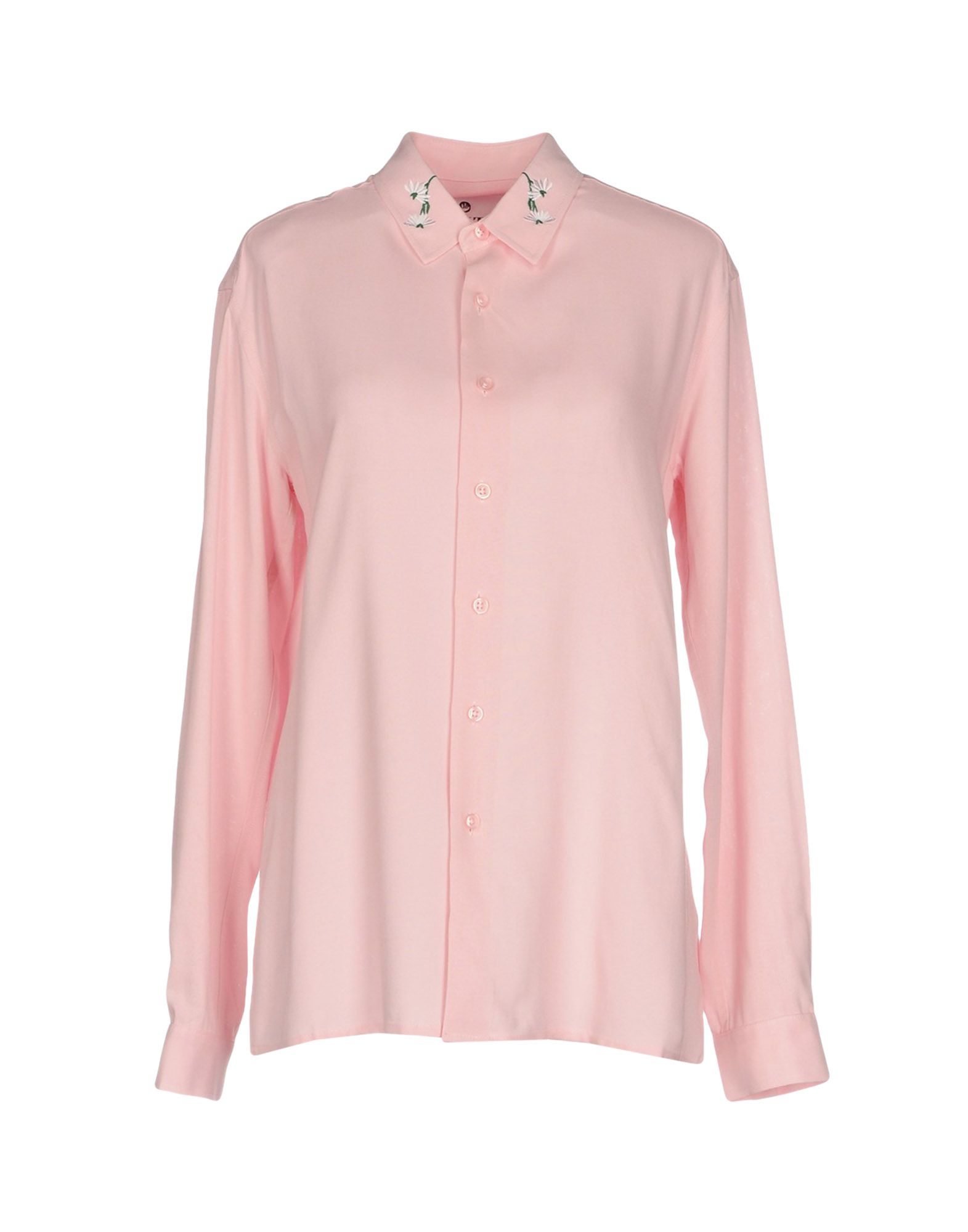 BRUTA Solid Color Shirts & Blouses in Pink