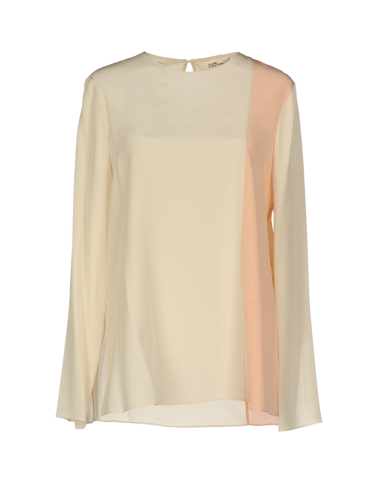 DIANE VON FURSTENBERG Блузка diane von furstenberg шелковая блузка gilmore habotai