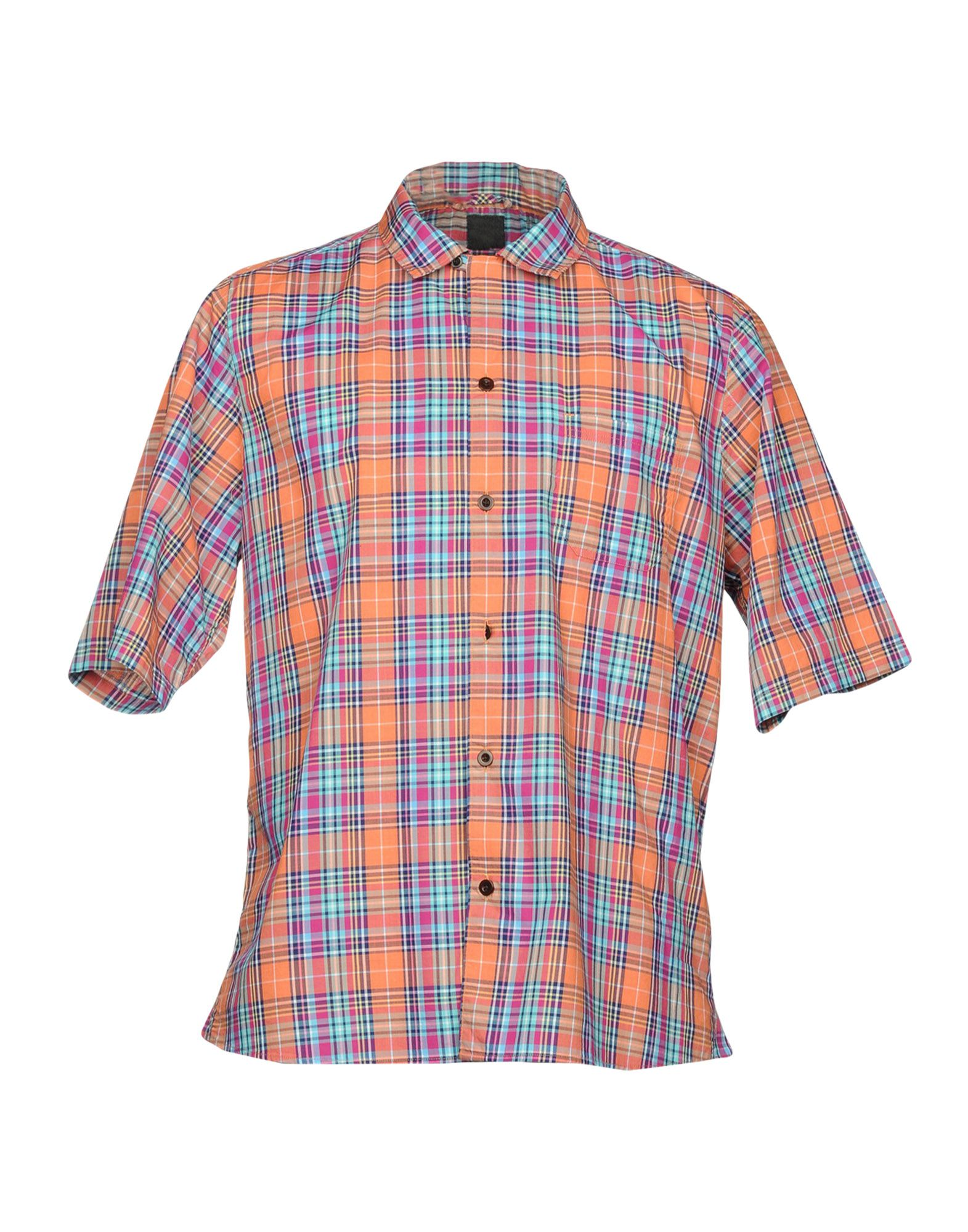 ALBAM Checked Shirt in Orange