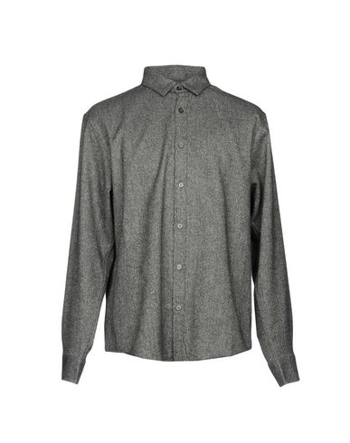 Купить Pубашка от CLUB MONACO цвет стальной серый