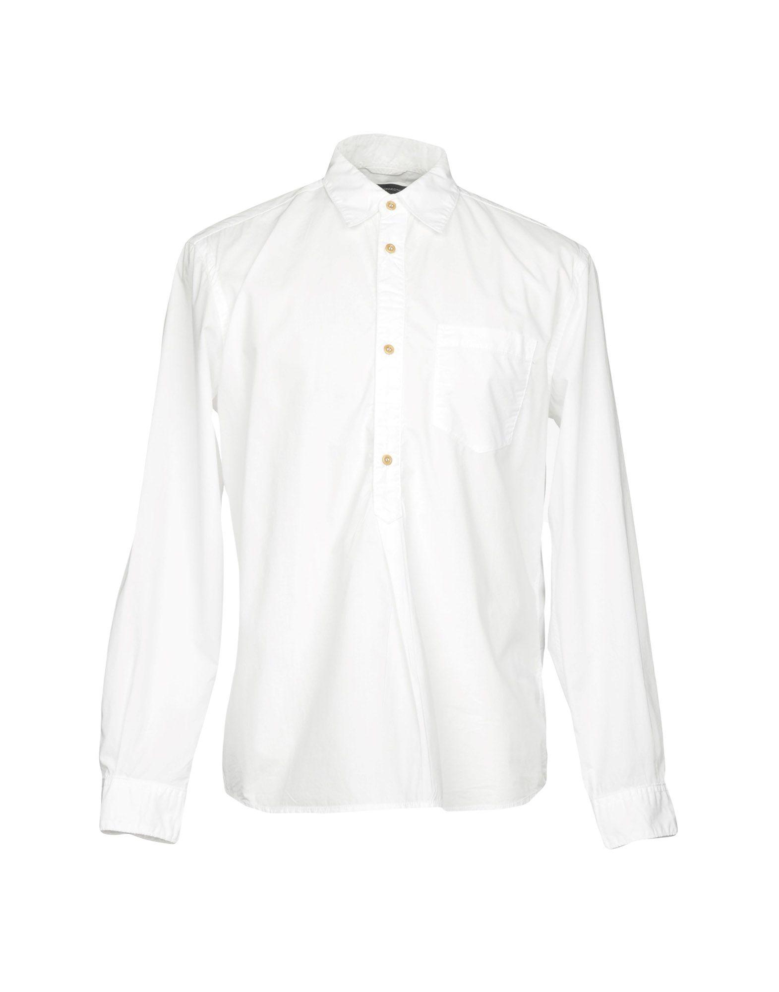 《送料無料》FRENCH CONNECTION メンズ シャツ ホワイト M コットン 100%