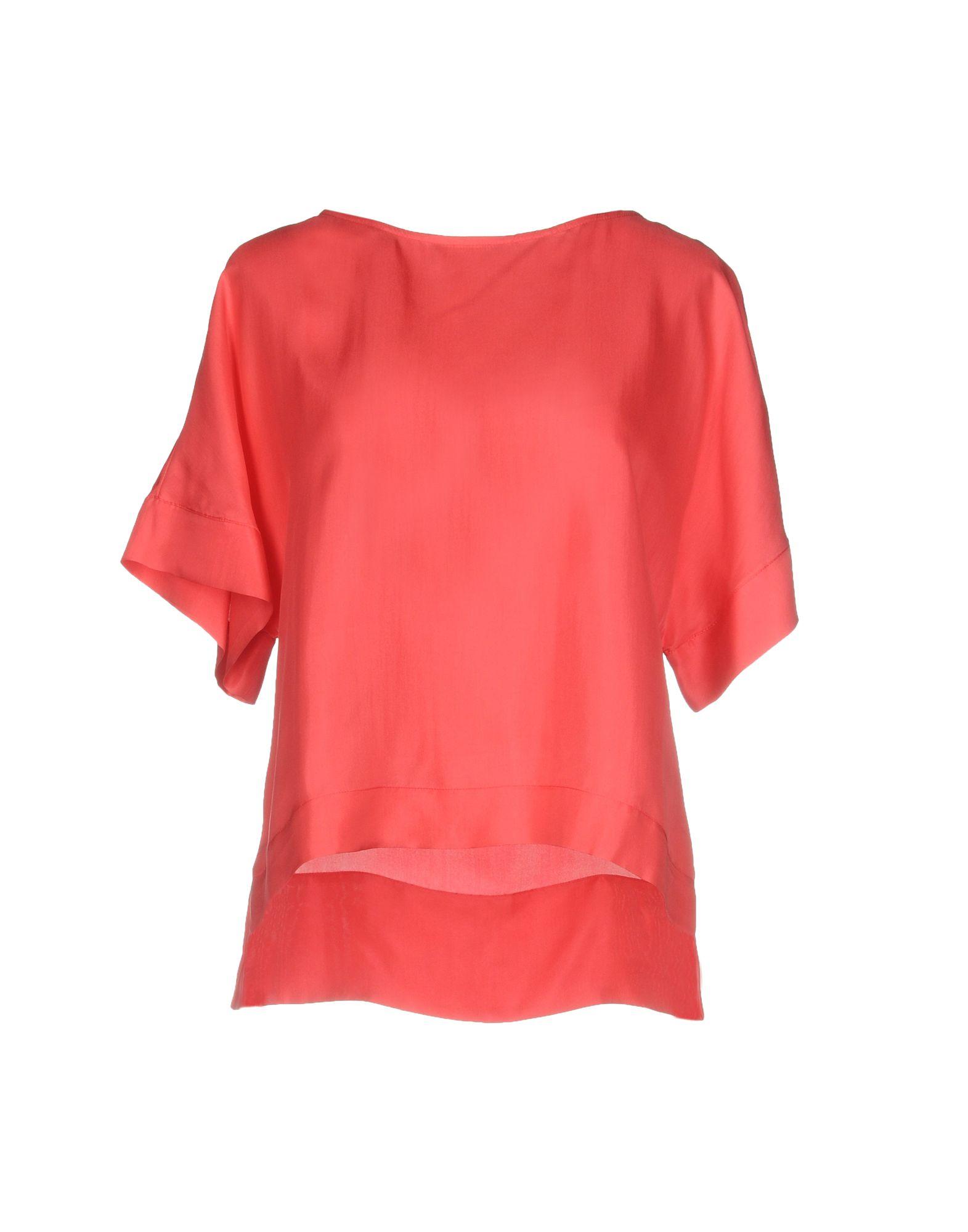 CLASS ROBERTO CAVALLI Блузка roberto cavalli расклешенная блузка с прозрачной панелью