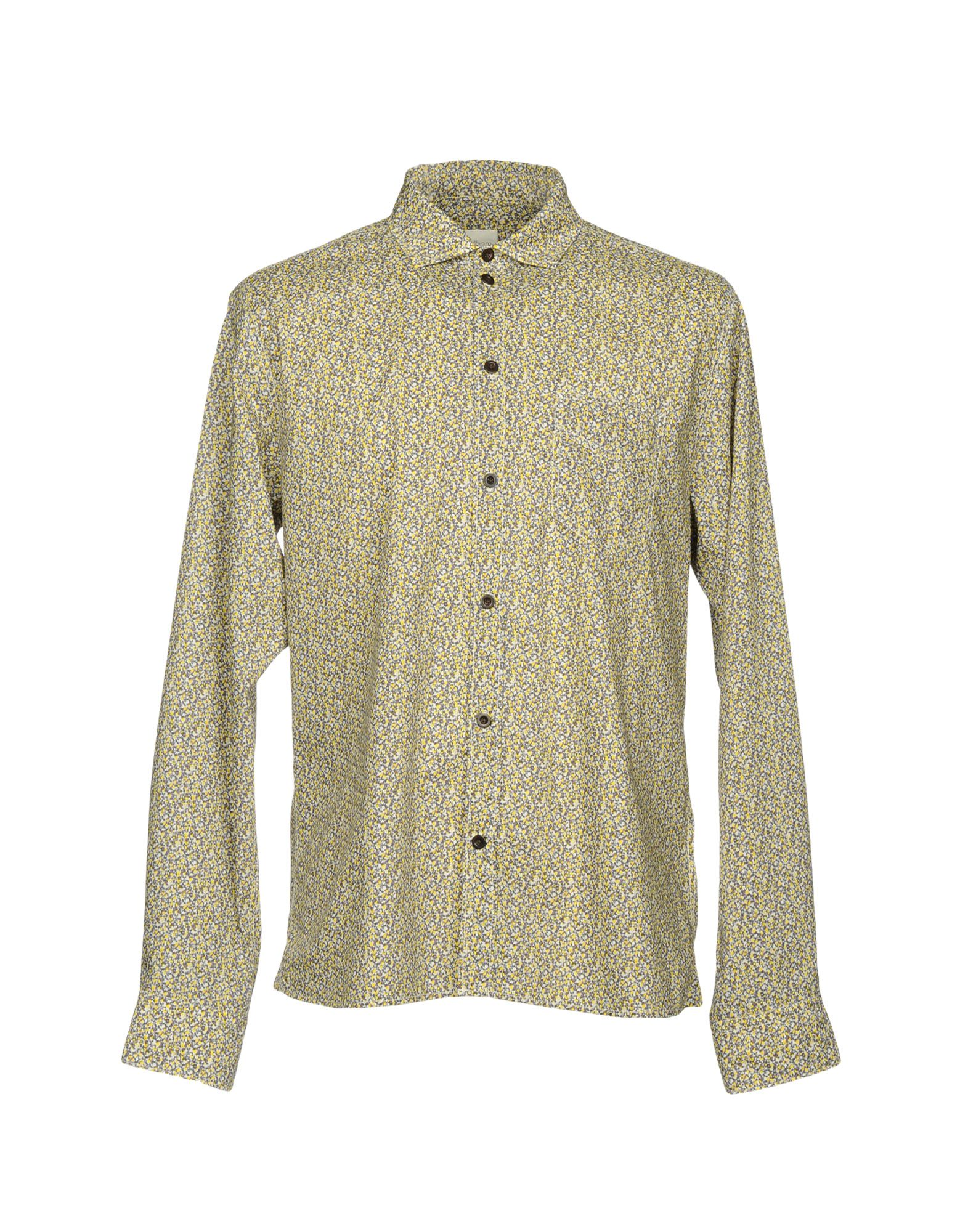 ALBAM Patterned Shirt in Yellow