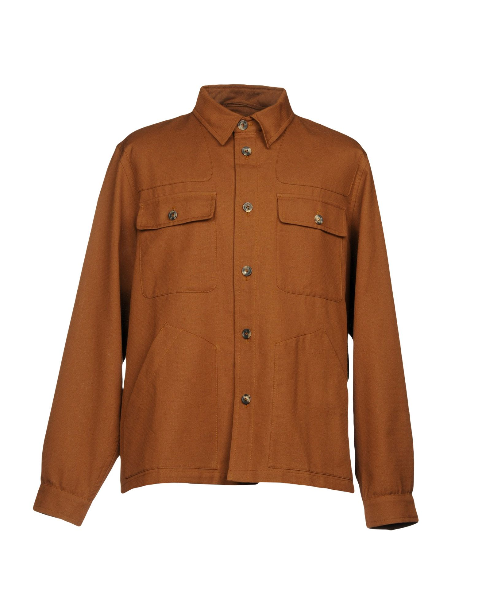 Private White V.c.  Solid color shirt