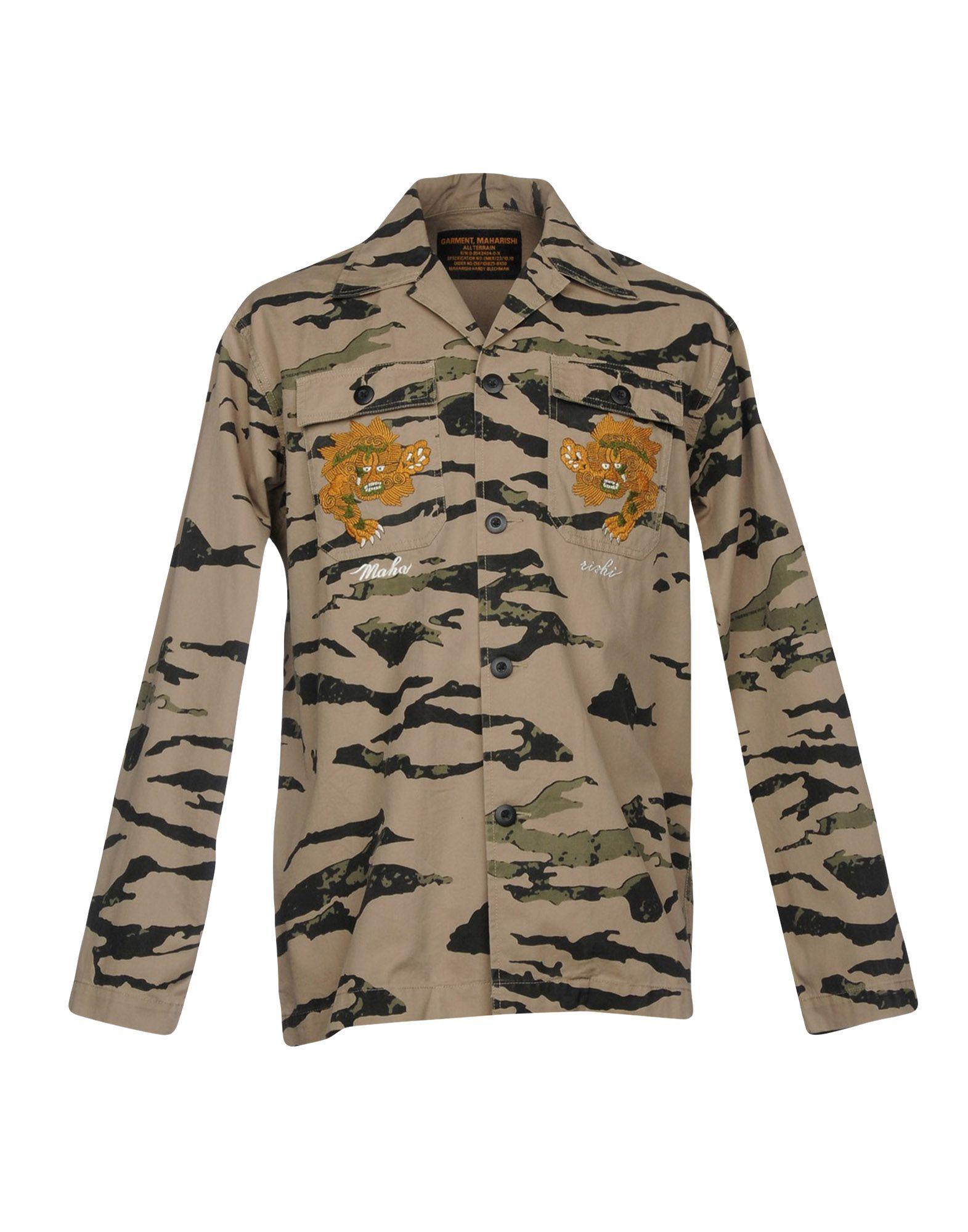 где купить MAHARISHI Pубашка по лучшей цене