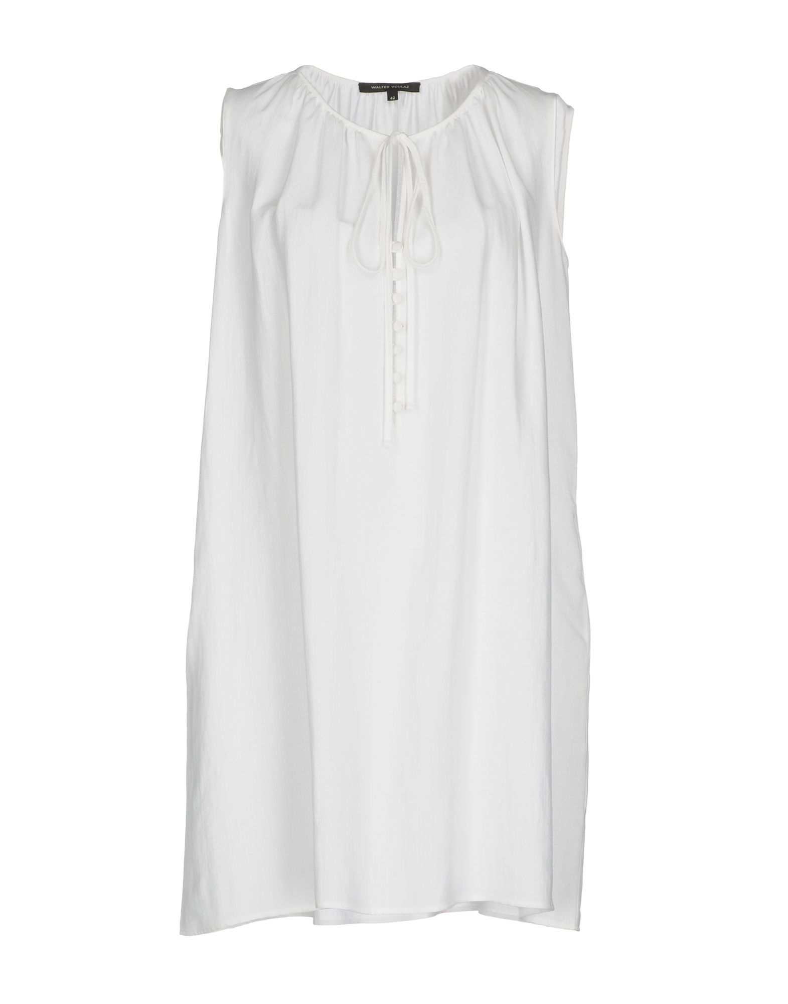 WALTER VOULAZ Short Dress in White