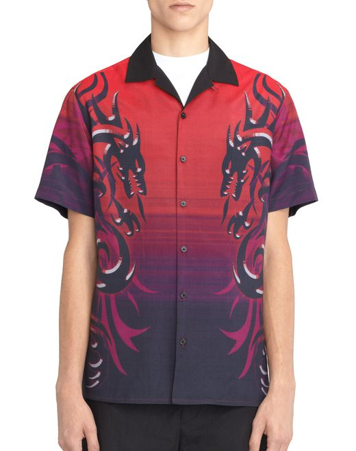 CHEMISE BOWLING « DRAGON TRIBAL » - Lanvin