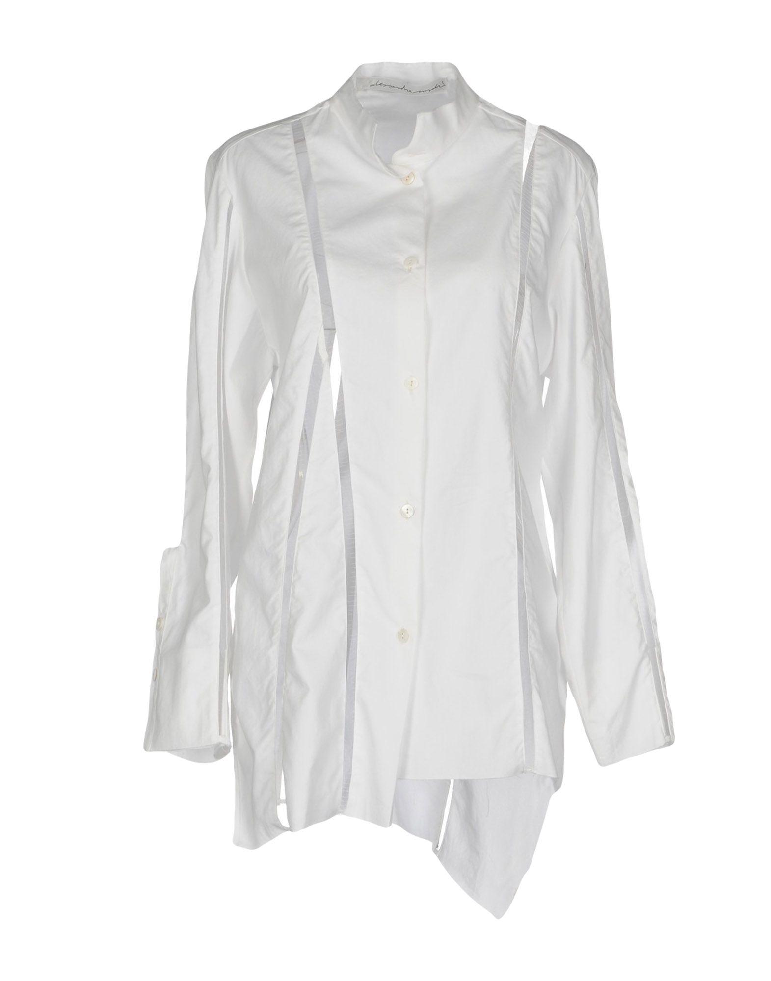 ALESSANDRA MARCHI Pубашка alessandra marchi короткое платье