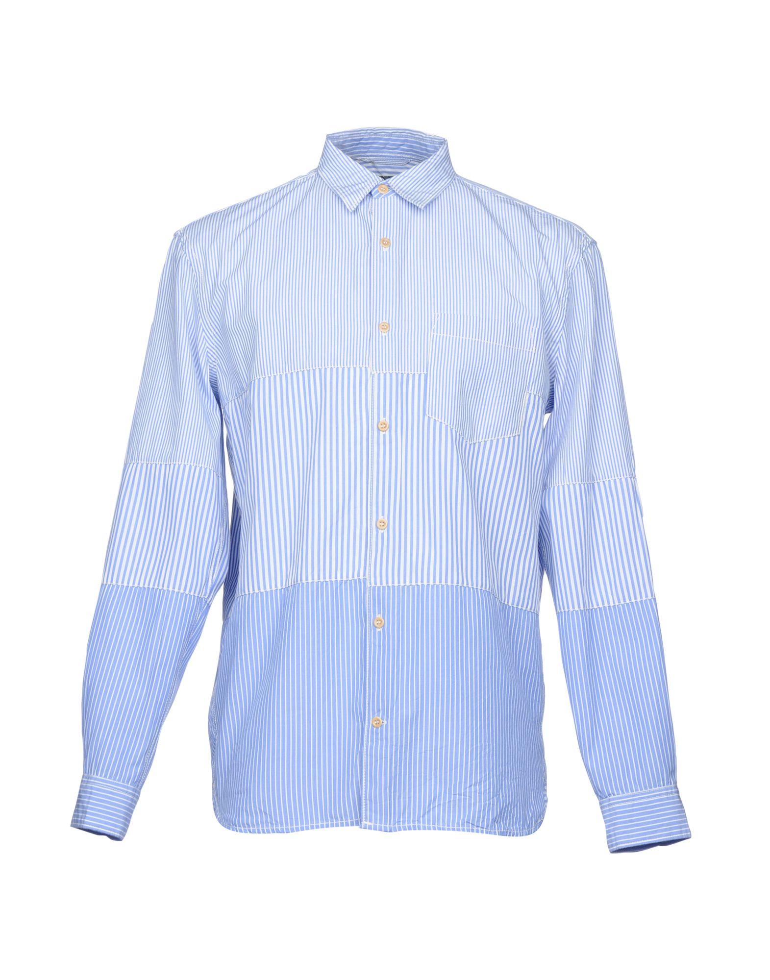 《セール開催中》FRENCH CONNECTION メンズ シャツ ブルー M コットン 100%