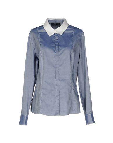 Купить Pубашка от BLUE LES COPAINS синего цвета