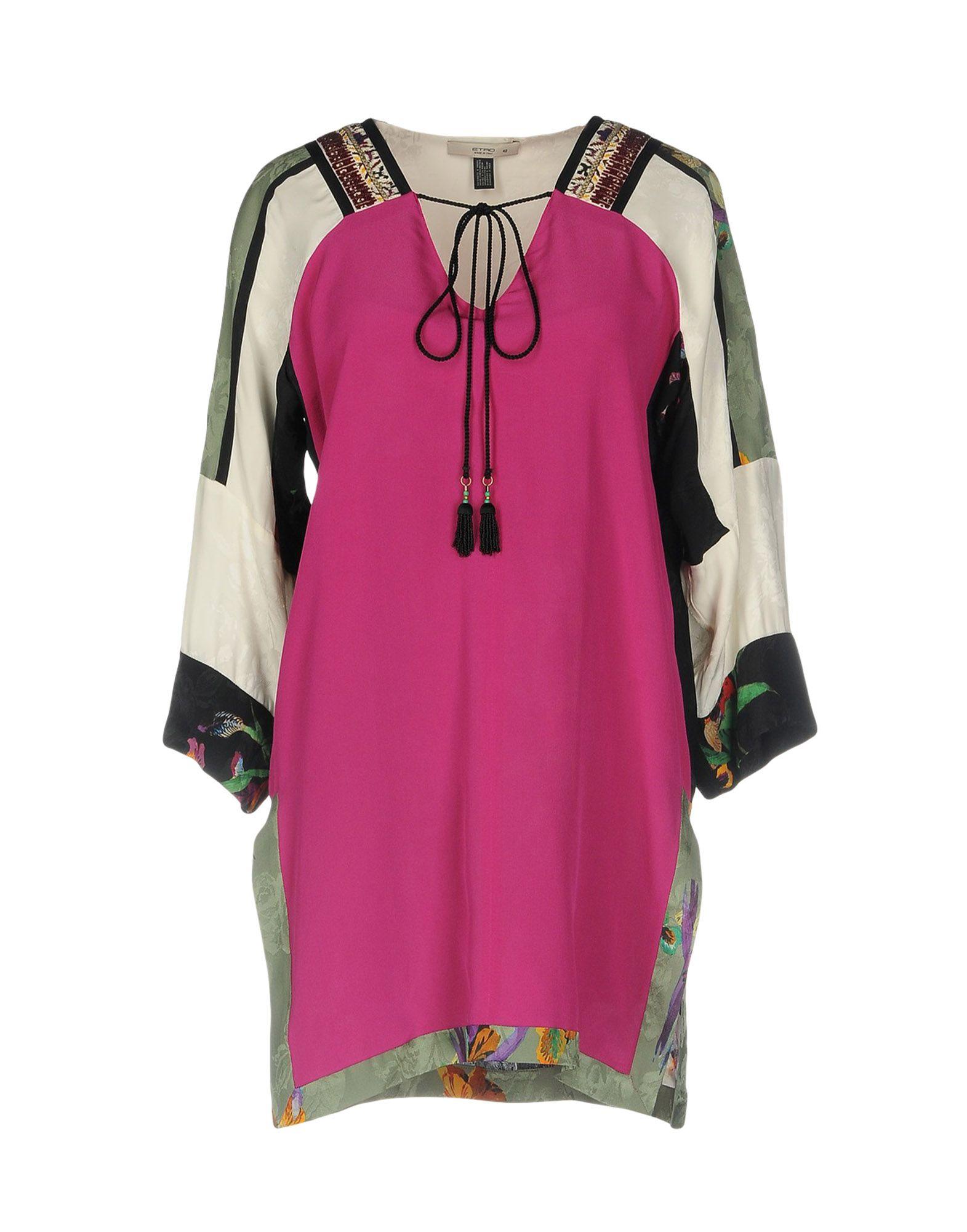 ETRO Блузка etro шелковая блузка с люрексом
