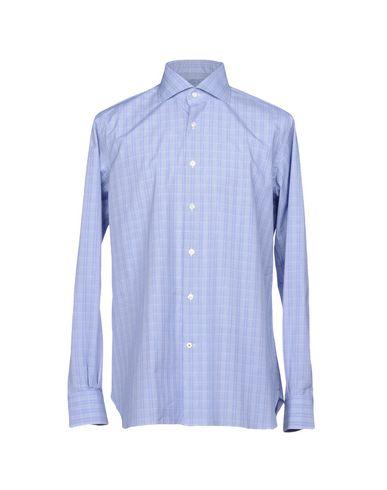 Фото - Pубашка от ROBERTO RICETTI небесно-голубого цвета